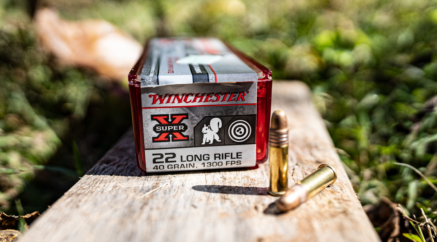 Winchester Super-X 22 LR ammo for hunting