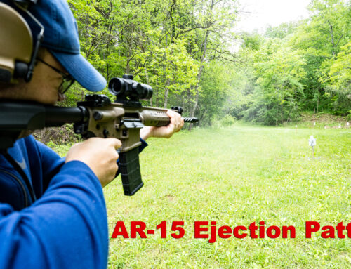 AR-15 Ejection Pattern