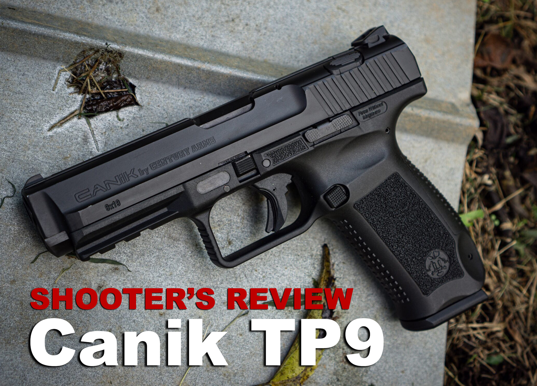 Canik TP9 pistol review