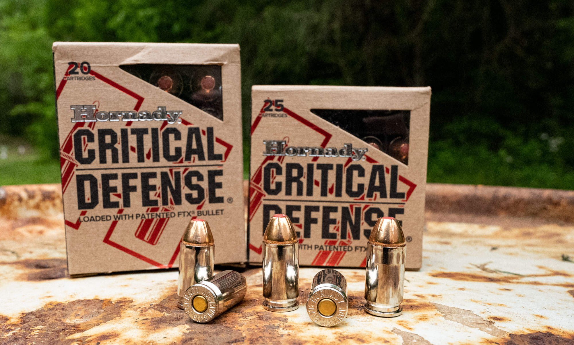 Hornady Critical Defense ammunition