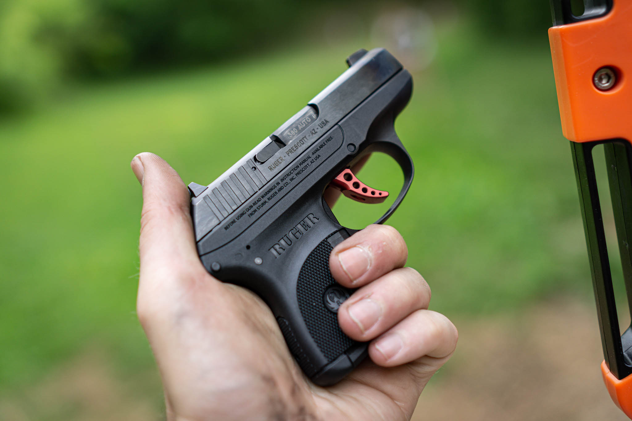 Ruger LCP At The Range
