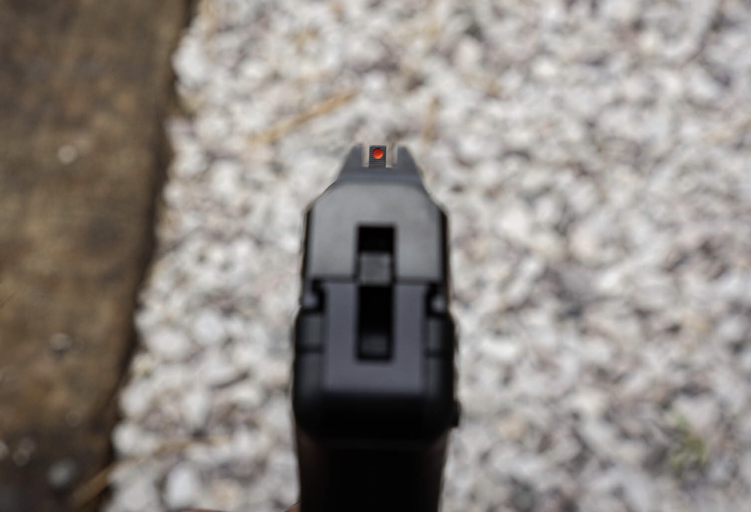 Ruger LCP Sight Picture