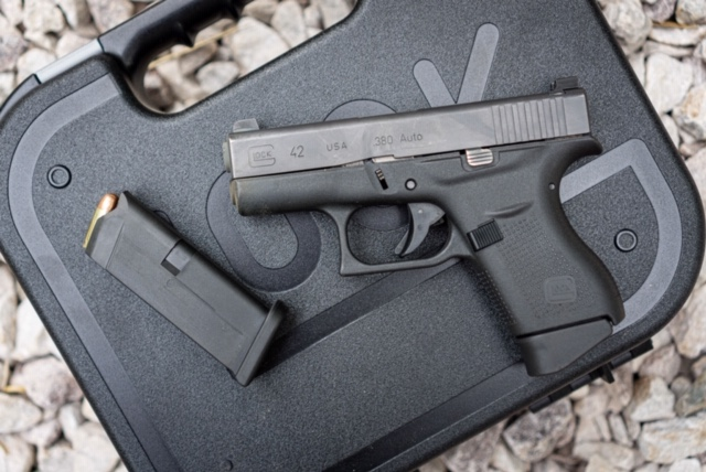 Glock 42 With Magazine Removed