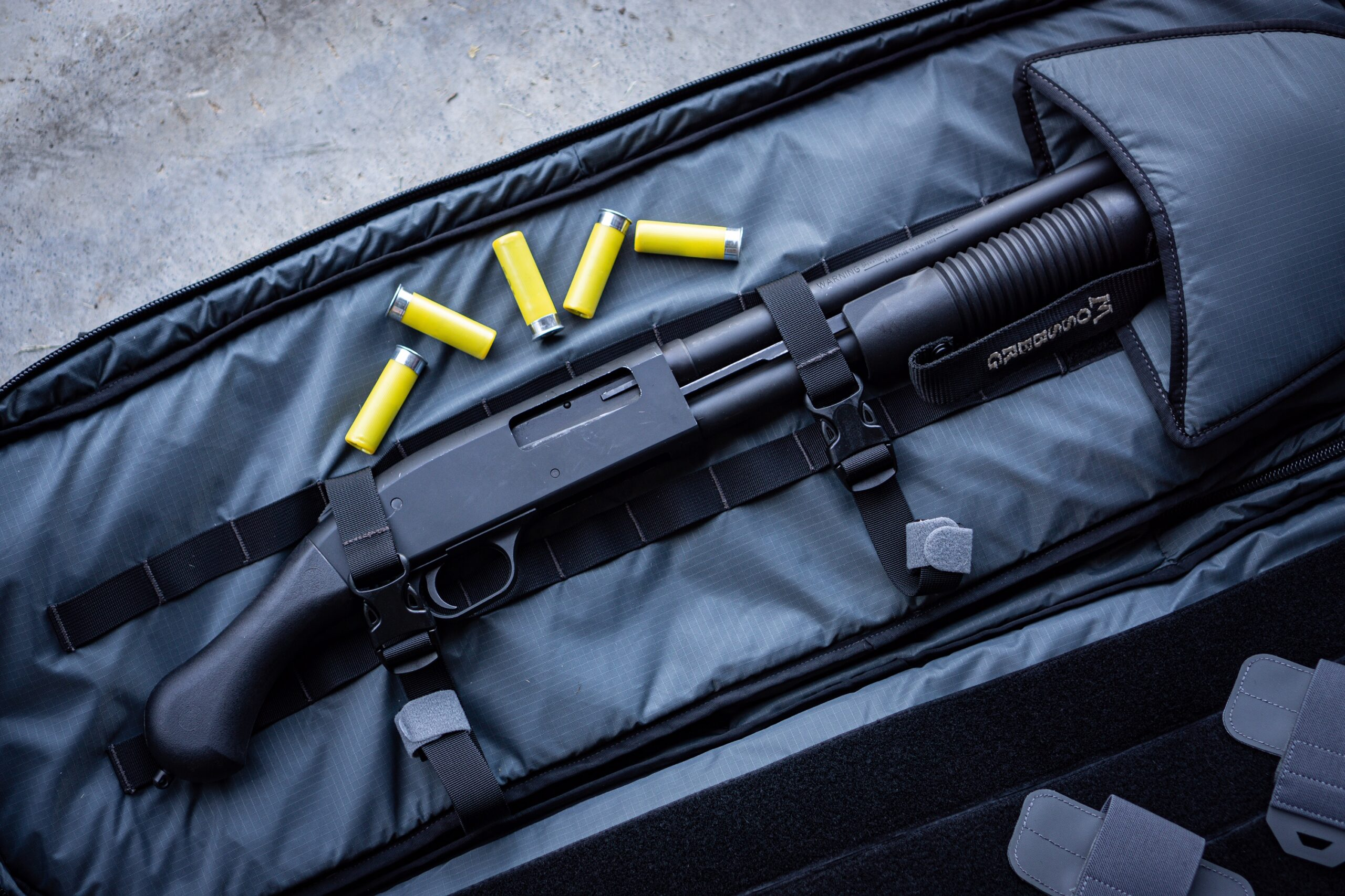 Mossberg Shockwave 20 gauge used in our review