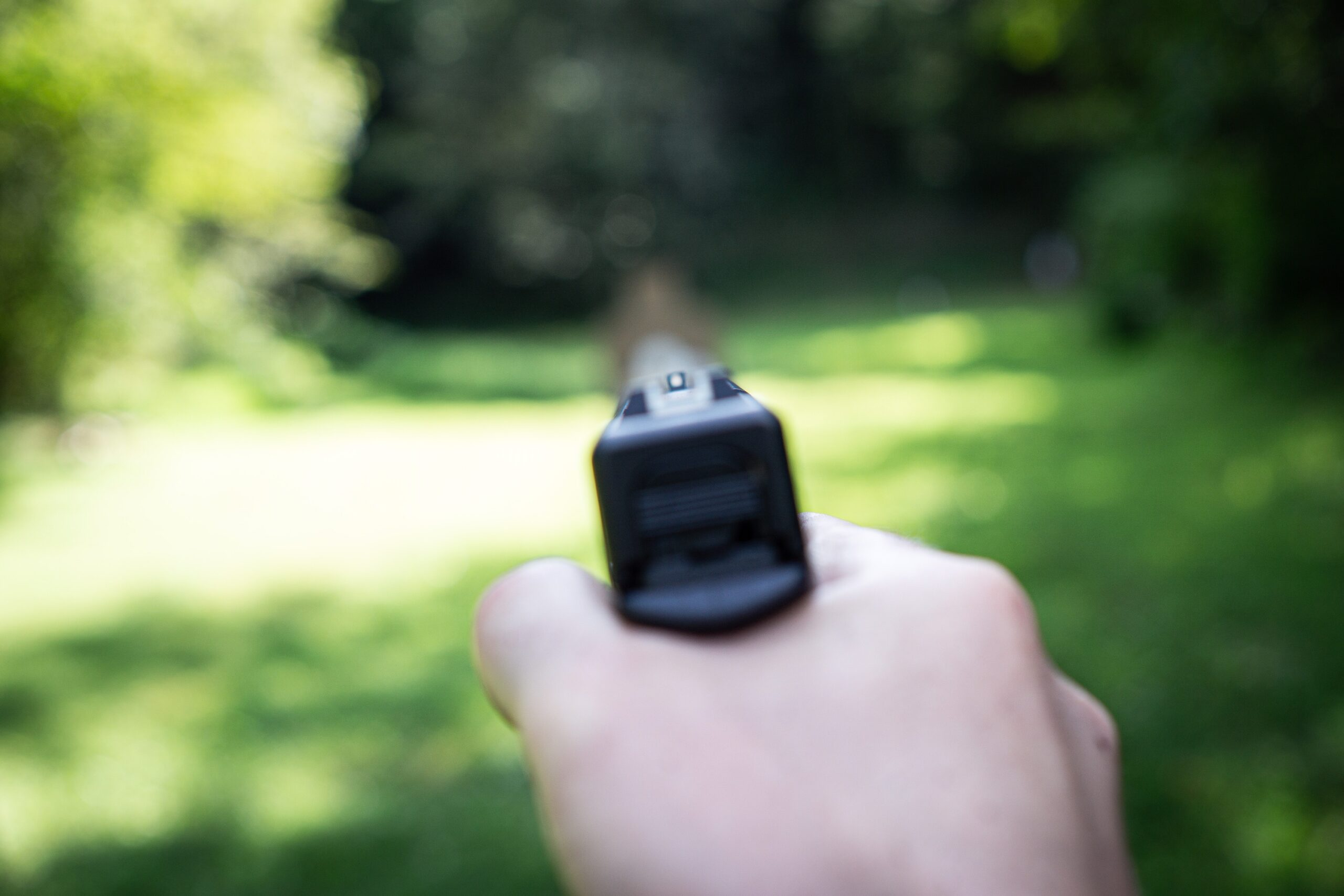 Glock 21 SF Sight Picture