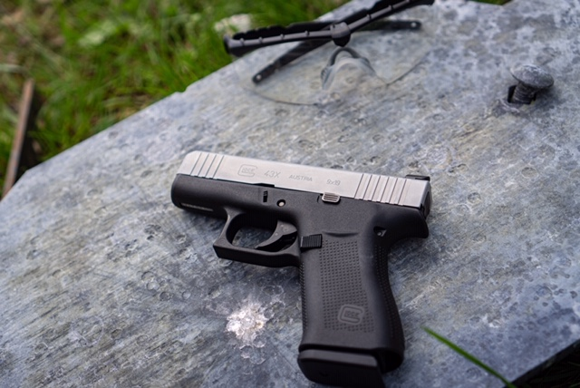 Glock 43X On Display