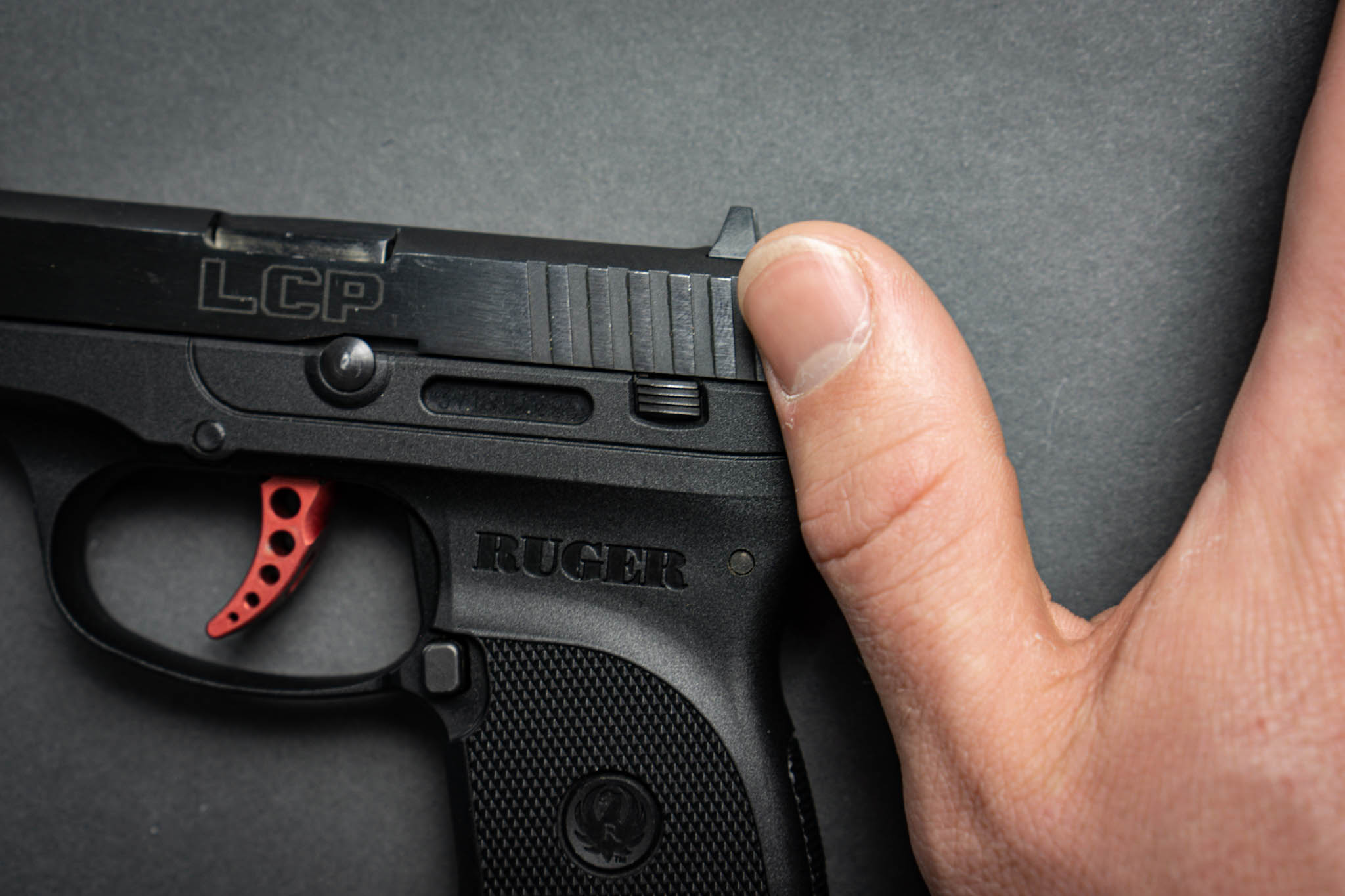 Ruger LCP Magazine Release