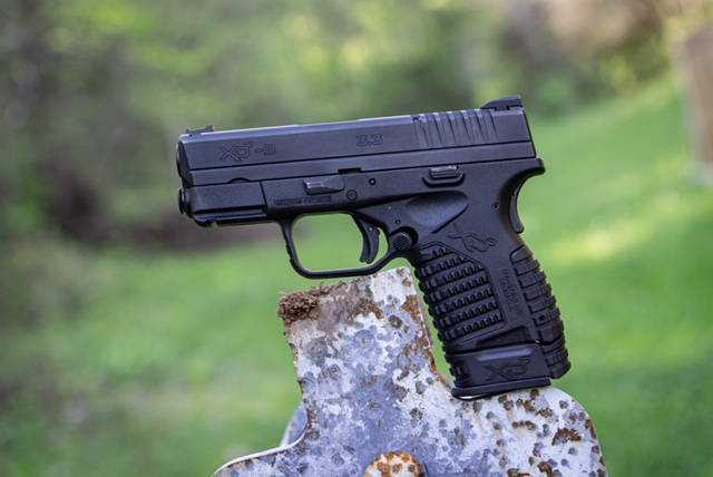 Springfield XDS 9mm Displayed