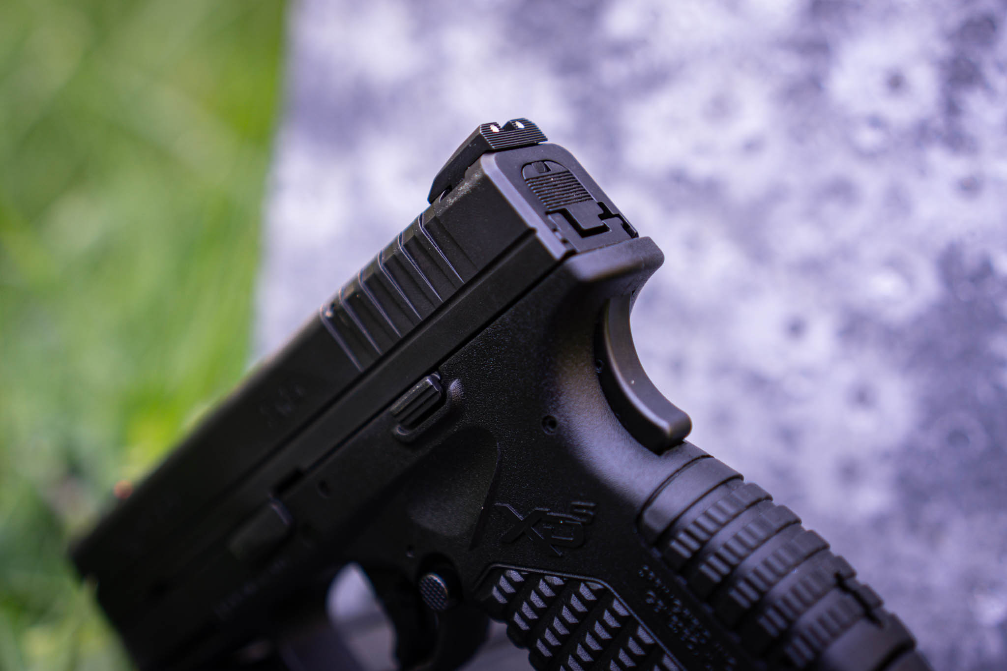 Springfield XDS Grip Safety