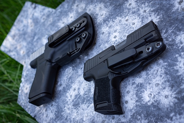 G43X And Sig P365 Shown In Holsters