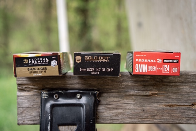 9mm Ammunition we fired in this comparison test