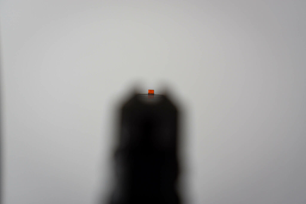 Ruger LCP II Sight Picture