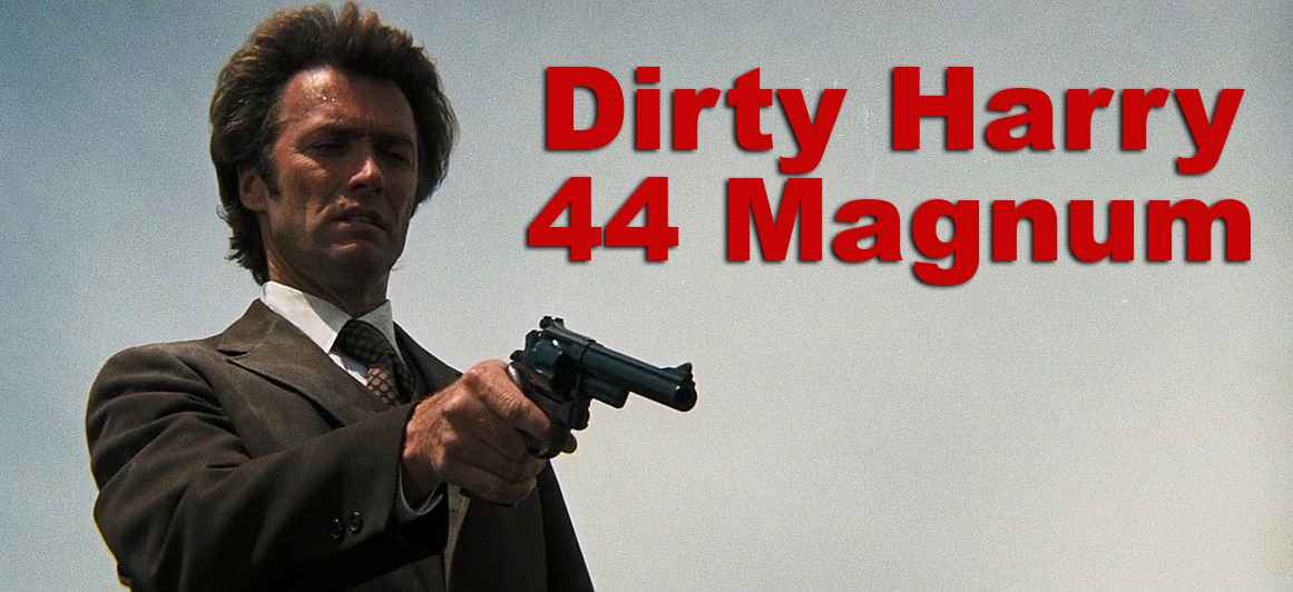 Dirty Harry with his Smith & Wesson 29 revolver