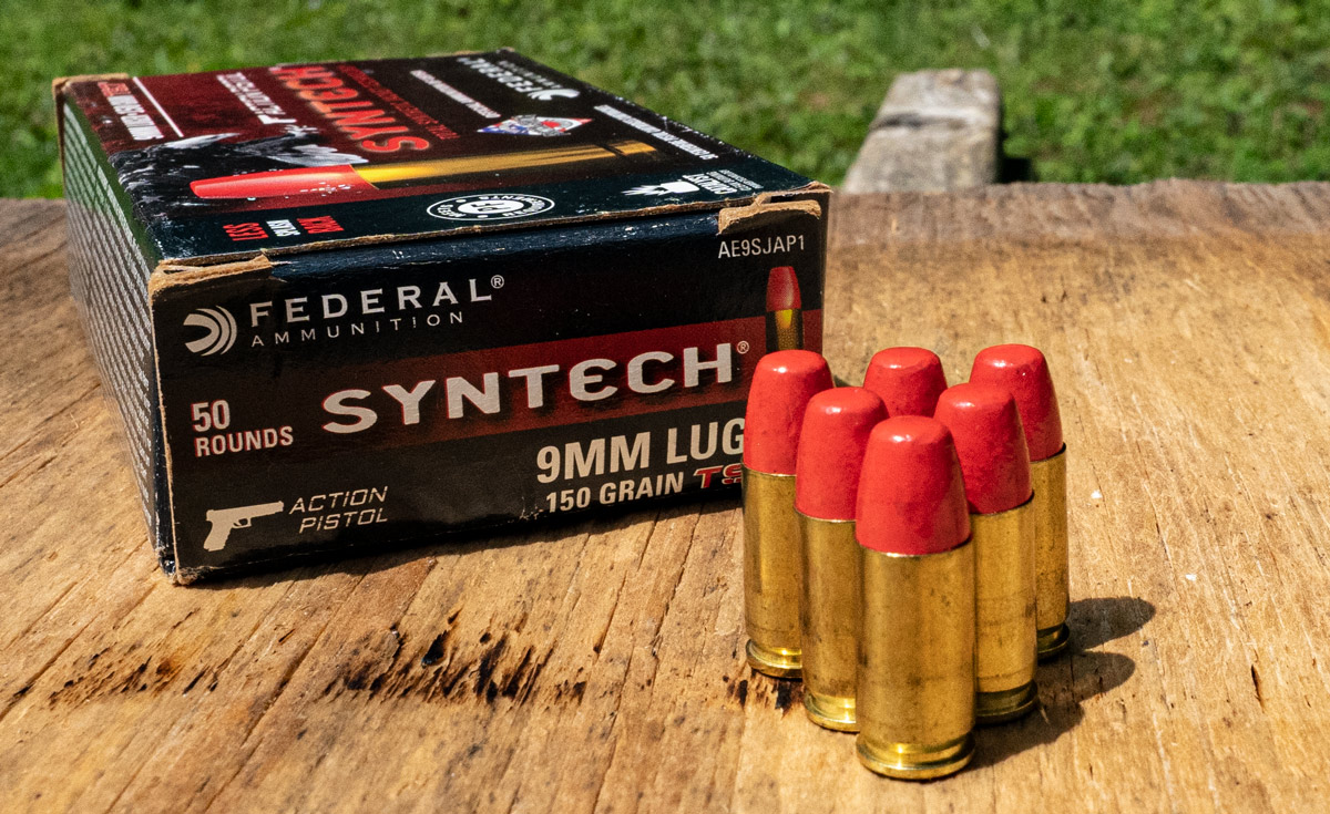 Federal syntech loaded with polymer coated bullets