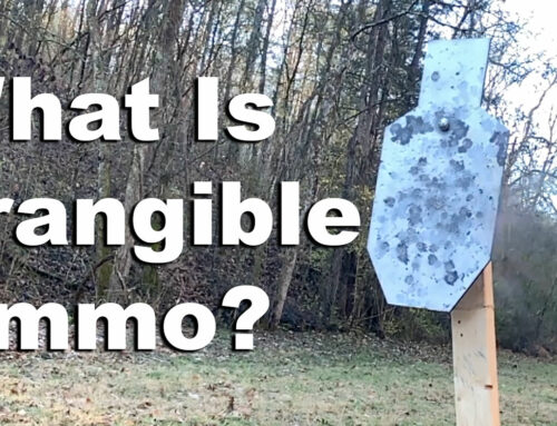 What is Frangible Ammo?