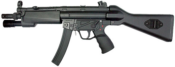 Heckler and Koch Mp5A3 rifle