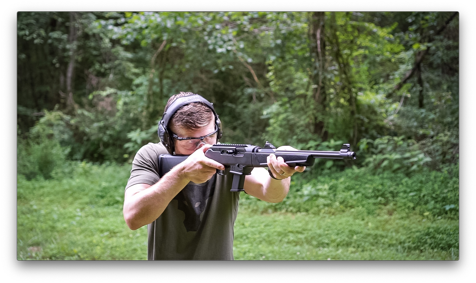 Author Firing Ruger PC Carbine