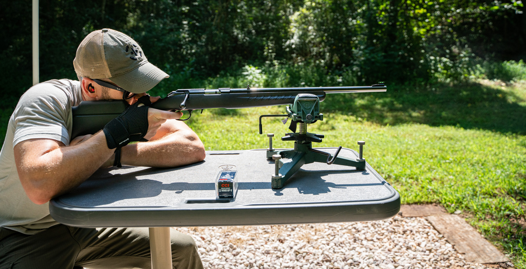 Shooting 22 WMR with a rifle
