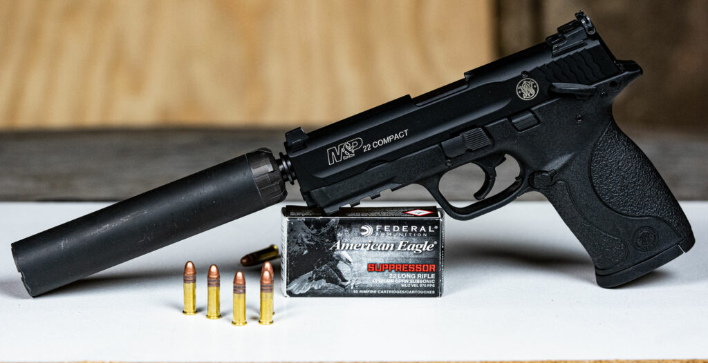 Federal subsonic 22lr ammo