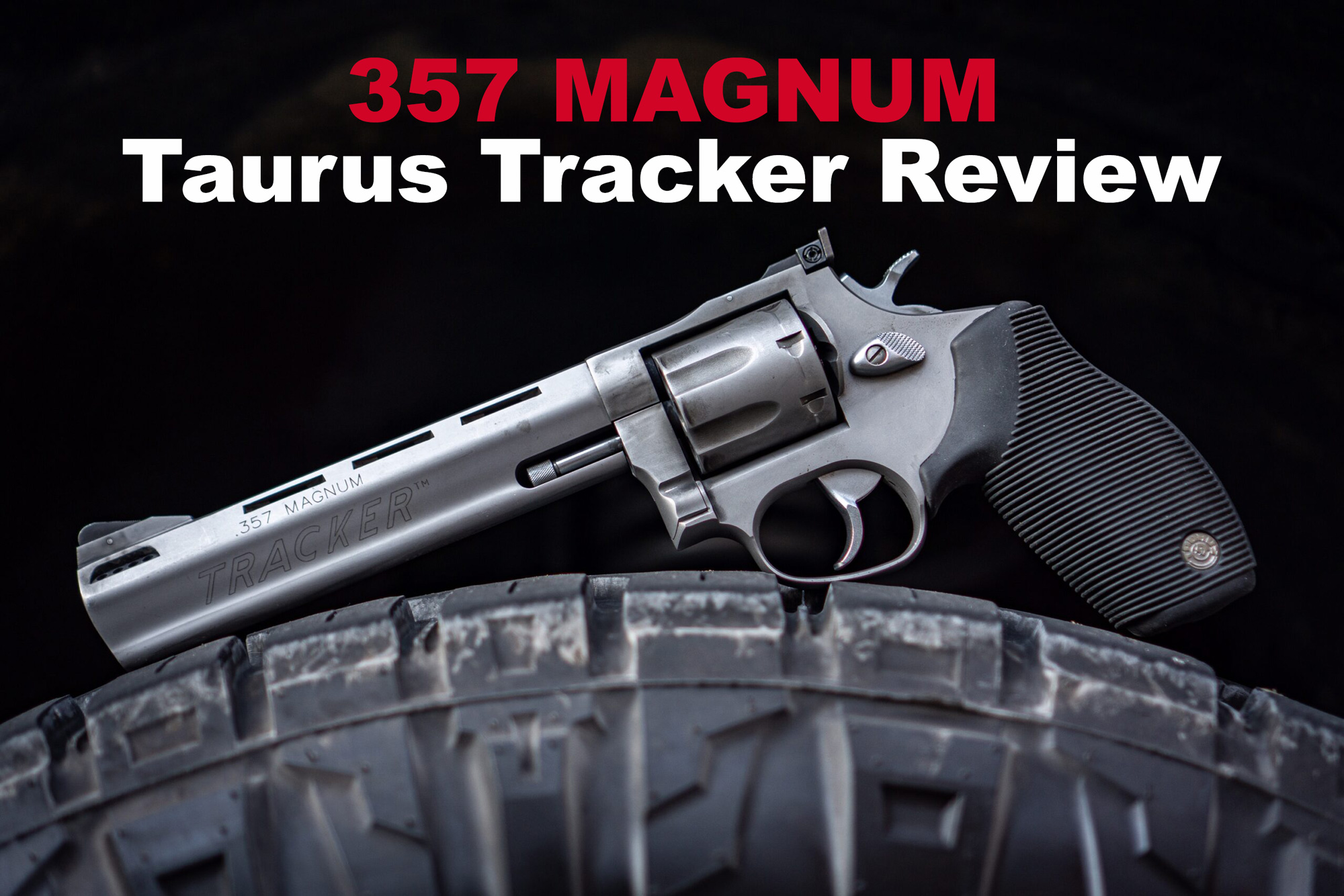 Revolver used for our Taurus Tracker Review
