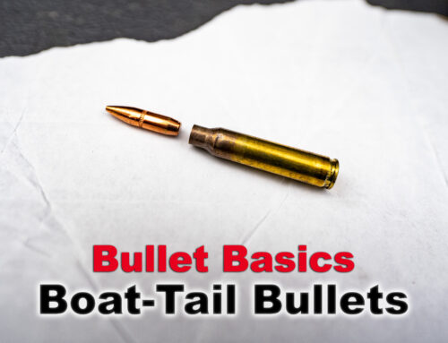 What's A Boat Tail Bullet?