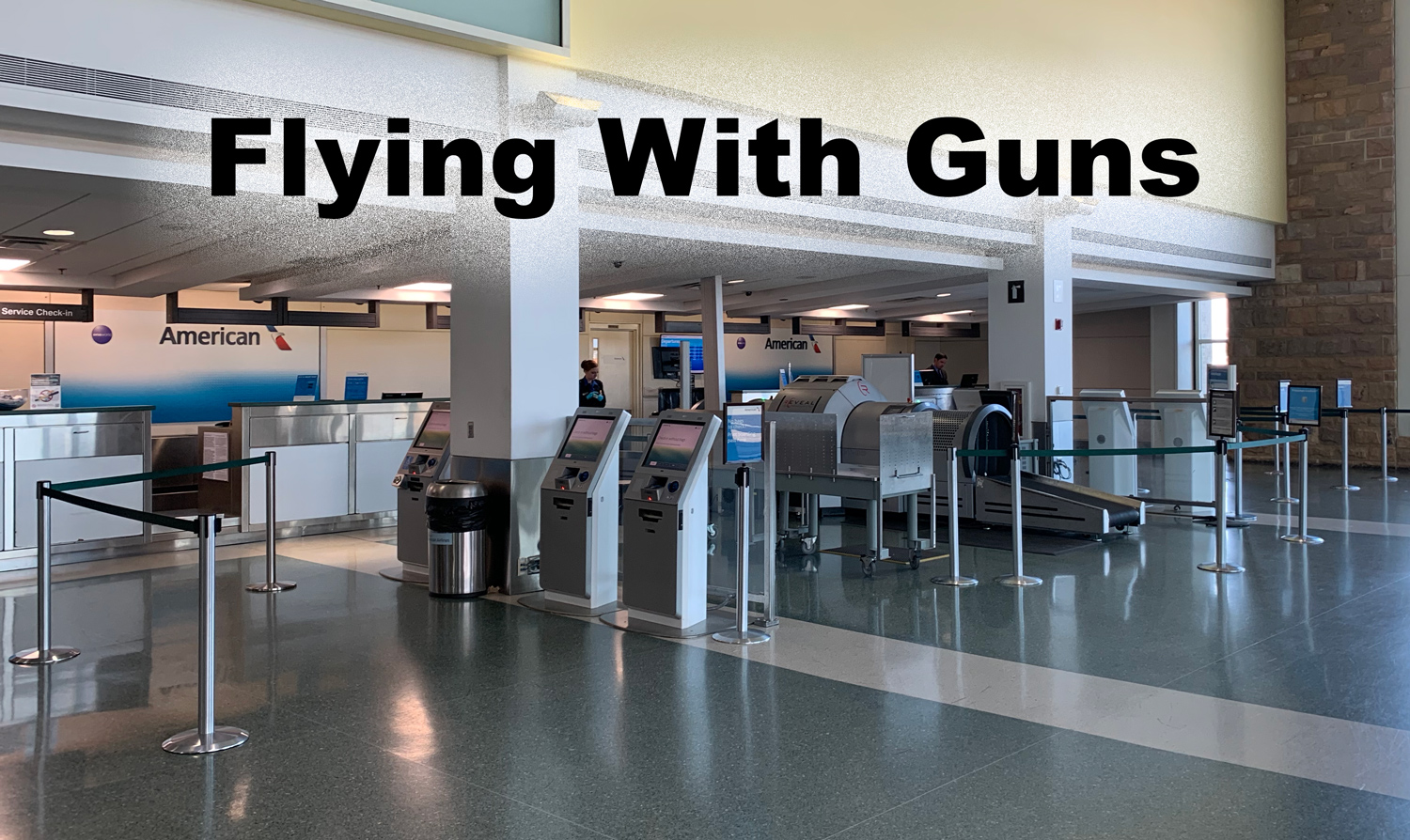 flying with guns