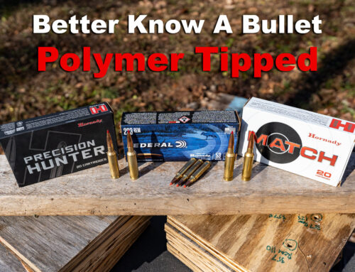 Polymer Tipped Ammo