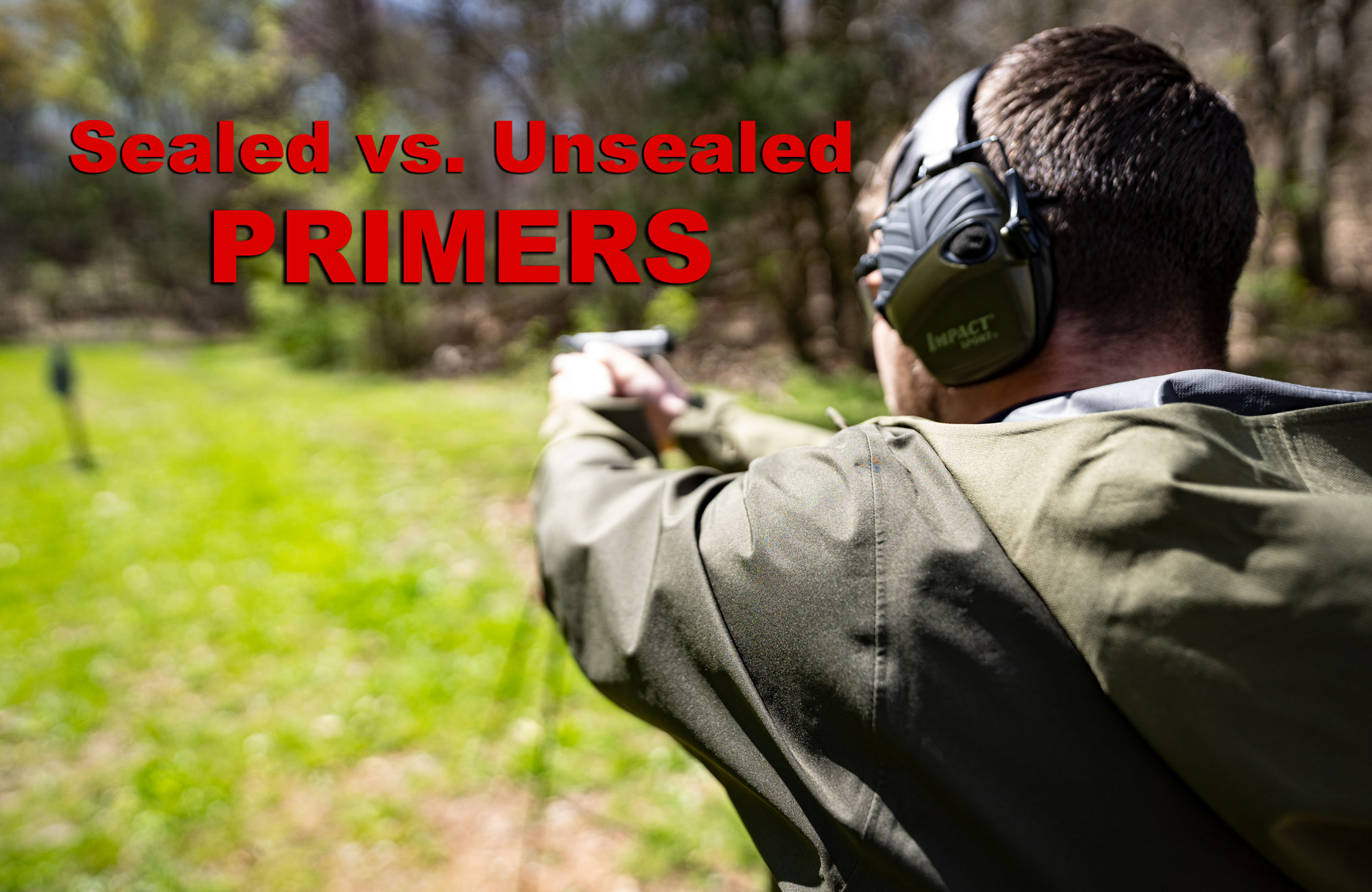 sealed primers at the range
