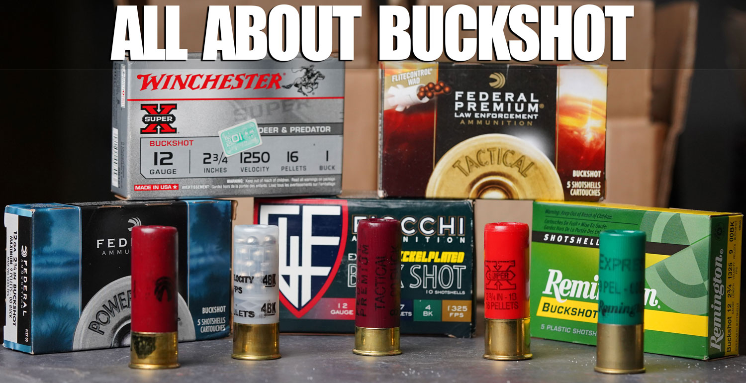 Remington 12 gauge buckshot ammo